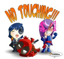 No touching by El-Mono-Cromatico