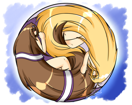Hair of the Yin-Yang by Sanone