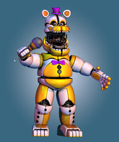funtime fredbear by toasted912