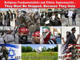 Religious Fundamentalism and Ethnic Supremacy by AX-Rpg