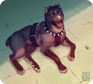 Chill Boy - Commission by Anti-Dark-Heart
