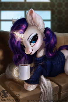 Rarity- Winter morning by LuleMT