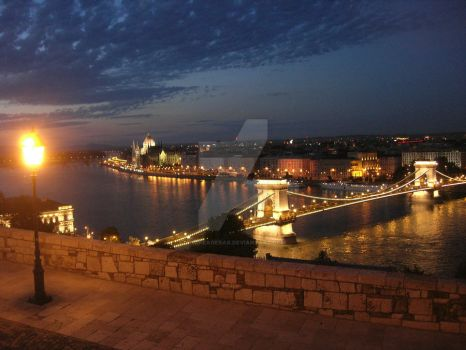 Enchanted Evening in Budapest by AndreaGerak