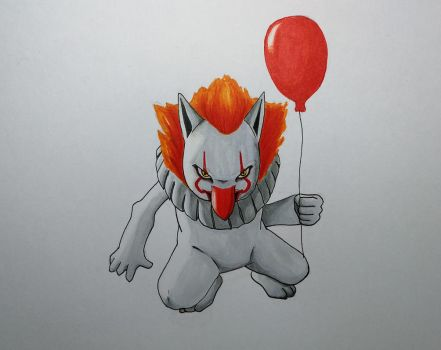 Pokemon Crossover fusion Hypno+Pennywise (It 2017) by PokeTrainerArt