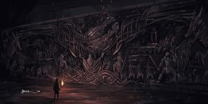 Alduin's Wall by onlychasing-safety