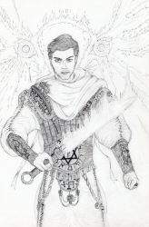 Michael, the Archangel of The LORD by ELEPHANT-of-DELIRIUM