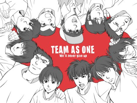 TEAM AS ONE 1 by getakichi