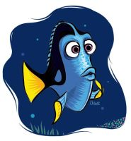 30 day drawing challenge - Dory by aledi