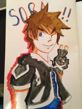 Sora!! by featherheaded