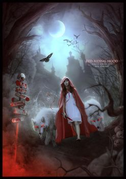 RED RIDING HOOD by saritaangel07