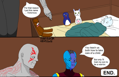 GOTG - Conversation. (PART 2) by UsagichanBR