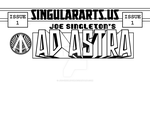 Ad Astra cover titles by Joe-Singleton