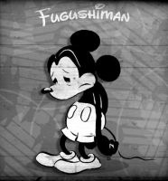 Mickey the Depressed Mouse by fugushima
