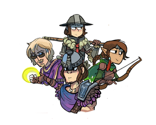 Dungeons and Dragons by terminarch