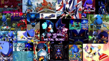 Metal History : 25 Years of Metal Sonic by MetalSkulkBane