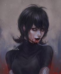 Vampire Girl Mavis by NanFe