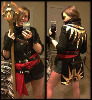 Fugitive's Mantle Cosplay Robe by ImperatorAlicia