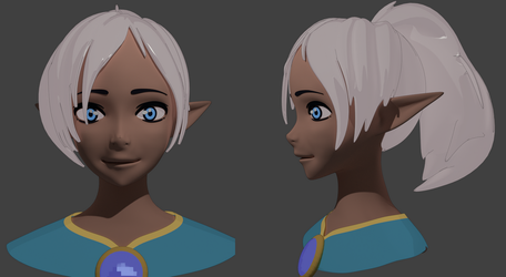 Paige (3D Model) by Elswere