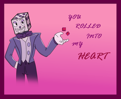 King Dice Valantine by scarletskyalar