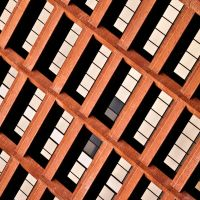 lines in the square I by SaphoPhotographics
