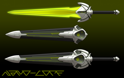 Scifi Sword Weapon Auction Adopt (open) by Nano-Core