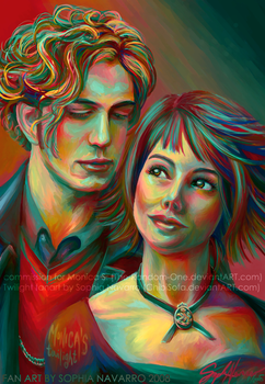 Alice and Jasper for Monica by ChibiSofa