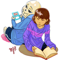 Bugging Frisk by MAXpro15
