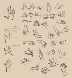 Hands Reference I by Ninjatic