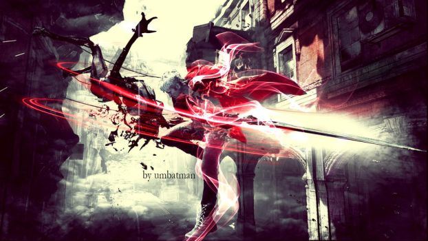 Dante Demon Trigger by umbatman