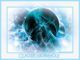 Glacier Wormhole by charcoaledsoul