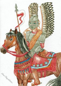 Polish hussar's girl by Angie-AgnieszkaB