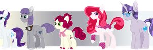 Levioverse- Rarity's Family by leviostars
