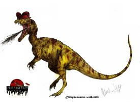 JP-Expanded Dilophosaurus wetherilli by Teratophoneus