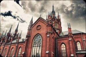 Gothic in  Moscow by shytiha