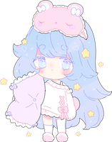 sweet dream lullaby adopt recolor | closed by Hacuubii