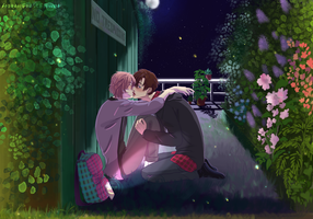 [Contest Entry] A Spring Night by AaronFrostflower