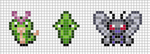 Mini: Caterpie, Metapod, Butterfree