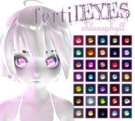 [MMD] fertilEYES chlorophyll + DL by HiLoMMD