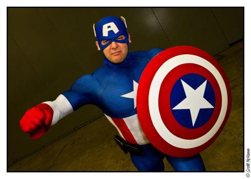 Captain America by Adurosphoto