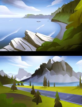 National Parks by MaximalGFX