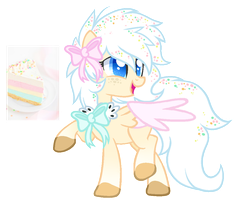 Angel Cake Adoptable OTA [CLOSED} by Prince-Lionel