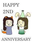 Happy 2nd Anniversary!!! by Espa-Chi