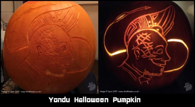 -Yondu Pumpkin- by Silvolf