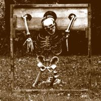 Skeleton in Stocks by Crigger