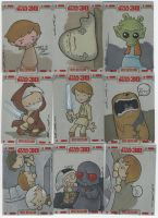 TOPPS Star Wars cards, pt. 2 by katiecandraw