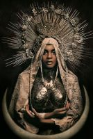 Black Madonna by Widmanska