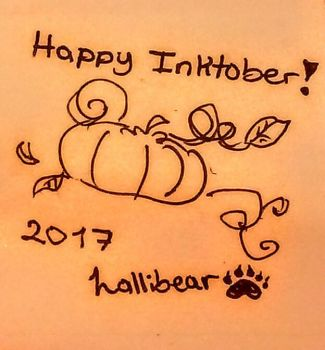 FIN! INKTOBER 2017 DAY 31 by lallibear