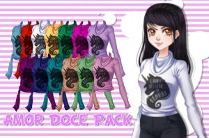 Amor Doce Pack by isathecat09