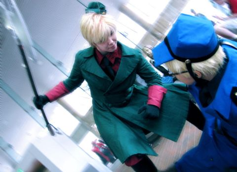 APH: Abusive Relationship by Pisaracosplay