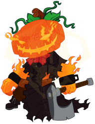 Vector Sketch 43 - Pumpkin King by 347STUDIOS